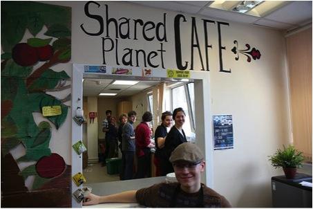 Shared planet café