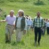 Prince of Wales visits ADEPT Foundation Transylvania hay meadows